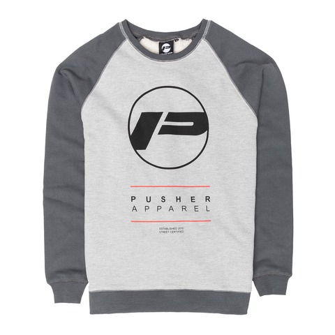 Bright Raglan von Pusher Apparel - Crewneck Sweater jetzt im Pusher Apparel Shop