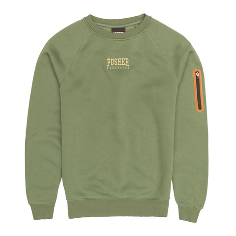 PUSHER Athletics Zip Sweater von Pusher Apparel - Sweater jetzt im Pusher Apparel Shop