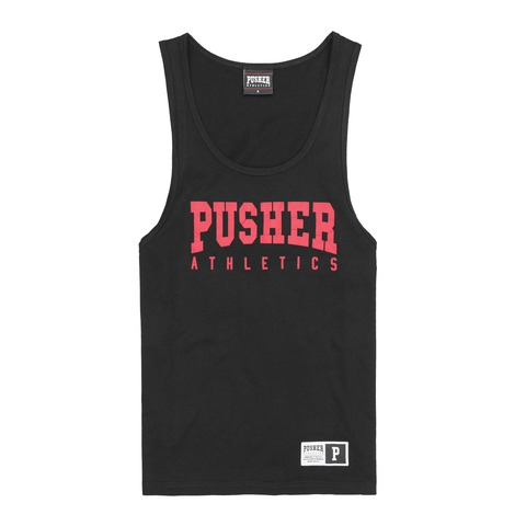 PUSHER Athletics Tanktop von Pusher Apparel - Men's Tank Top jetzt im Pusher Apparel Shop